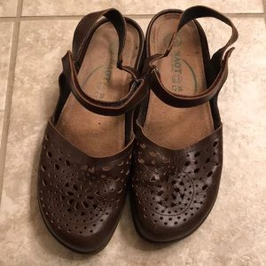 NAOT Mary Jane shoes size 38 or US 8